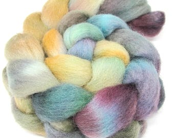 Dorset Horn Hand Dyed Combed Wool Top 100g DH67
