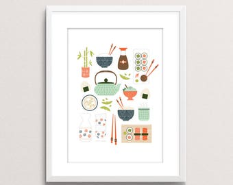 You Had me at Sushi print