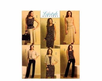 SALE Misses Jacket Top Dress Skirt Pants Butterick 5190 Sewing Pattern Size 8 - 10 - 12 - 14 Bust 31 1/2 - 32 1/2 - 34 - 36 Uncut