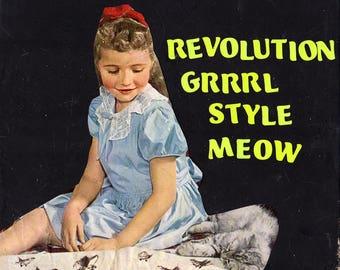 Meow Revolution {Original Collage}