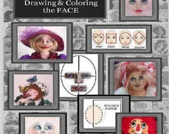 Learn the Basics of drawing and coloring the Face E-Pattern Booklet