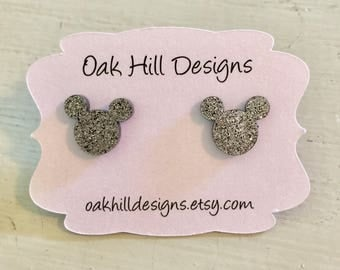 Mr. Mouse earrings-mouse earrings-happiest place on earth