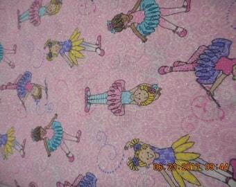 MadieBs Little Ballerinas on Pink Toddler Sheet Set or Crib Sheet Set Personalized