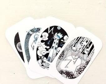 PREORDER -- Skeleton Tarot Deck