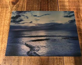 Ocean, Outer Banks, NC 10x7 photo on metal