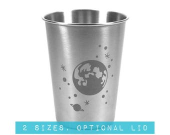 Full Moon & Stars Stainless Steel Tumbler - Choose your size