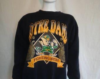 Closing Shop 40%off SALE Notre Dame Fighting Irish Sweatshirt