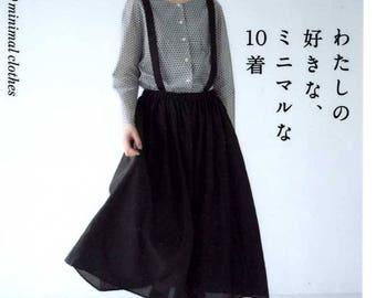 My Favorite 10 Minimal Clothes  - Japanese Craft Pattern Book