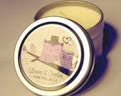 Custom Listing for Jamie Wedding or Event Favor Gift Travel Candle Sample