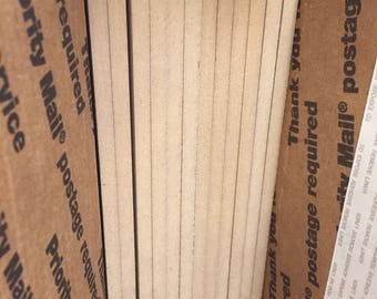 """1/4"""" MDF sheets  - 12"""" x 24"""" sheets of MDF"""