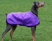 DOBERCOAT Raincoat  Made to order - reserved listing for Gail Murphey