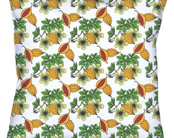 Cerasee - Jamaican Botanicals Throw Cushion Covers (with pillow insert)