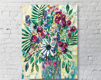 """18x24 Canvas Artwork - """"Enjoy the journey"""" - Print on Canvas"""