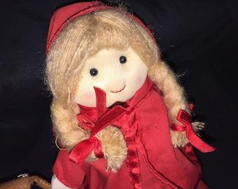 Swedish Mundo Surprise Reversible Lil Red Riding Hood Doll