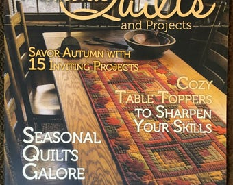 2016 Fall issue Primitive Quilts & Projects Magazine