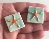 Mosaic Tile Ceramic Starfish Porcelain Your Choice