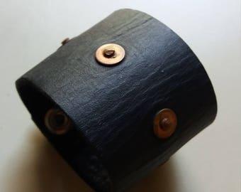 Heavy Leather Wrist cuff