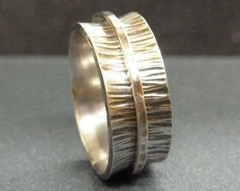 Spinner Ring Tutorial SRA Sterling Silver Ring Womens Jewelry