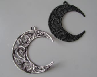 Crescent Moon Applique made in any colour