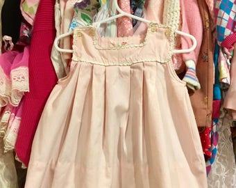 1950s Baby Dress 12/18 Months