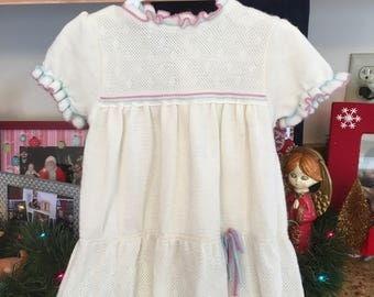 70s Knit Dress 18/24 Months
