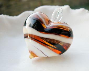 Chunky  Murano Glass Pendant Bead