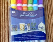 Glass Paint Marker Set for crafts and cups