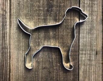"""5.5"""" Labrador Retriever Metal Cookie Cutter #NA6048"""