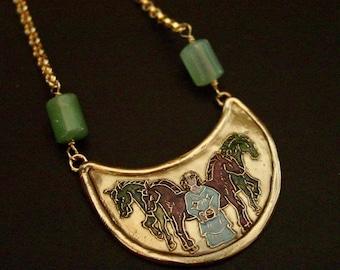 Rhiannon   Epona   Goddess of Horses - Necklace