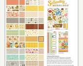 ON SALE October Afternoon Saturday Mornings Collection Kit for scrapbooking