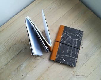 Set of two dos-à-dos notebooks