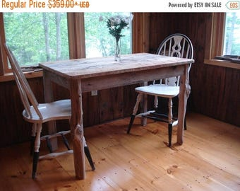 "ON SALE Driftwood Dining Room Table (""42x26""x29""H)"