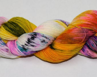 Ready to Ship - Daydreamer Hand Dyed Sock Yarn - Sport Sock