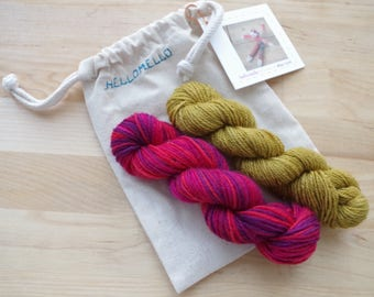 Sock Monkey Knitting Kit