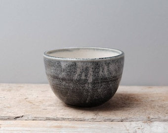 Speckled Blue and Cream Bowl