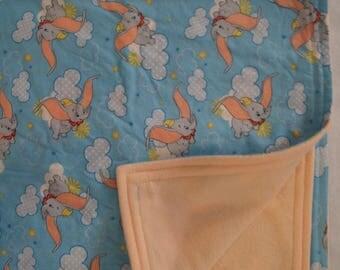 Dumbo Baby/Toddler Nap Blanket
