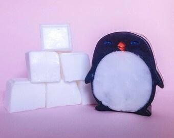 Penguin Soap - Great  Gift,Party favor,Tween gift, Birthday gift, Teacher, Penguins