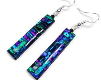 Multicolor Statement Earrings- Polymer Clay Statement Earrings, Gifts for Her, Birthday, Christmas