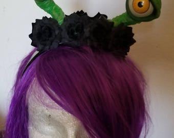 Alien, Alien eyes, Alien headband, Eyes, Eye headband, Cosplay