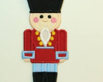 Nutcracker Embroidered Applique