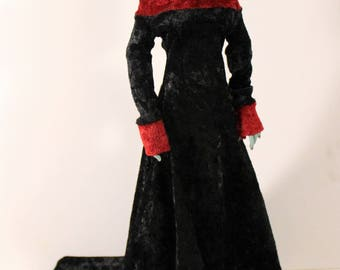 Sale Medieval Gown for MSD BJD doll INSTOCK