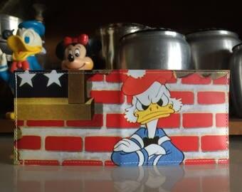 Donald Duck Disneyland Map Wallet