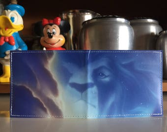 Spirit of Mufasa Disneyland Map Wallet