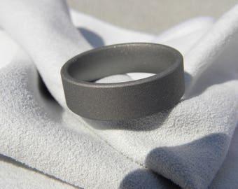 Wedding Ring, Titanium Band, Fully Sandblasted, Wedding Band, Mens Ring, Ladies Ring