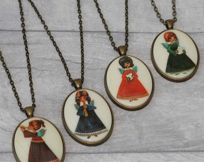 Musical Angel Necklace