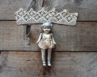 Vintage Porcelain Doll, Collectibles