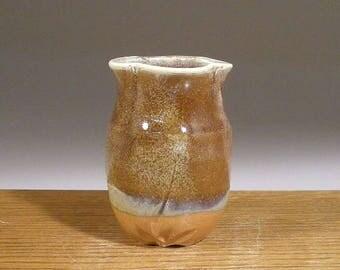 Clearance SALE ,  Bud Style Vase , Small Stoneware Pottery Vase , by Jon Whitney Pottery