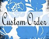 Engraved Skeleton Hands Invitation Order Reserved for Lily