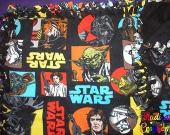 SW: Framed tie blanket