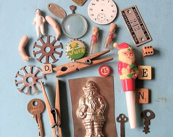 Vintage Lot Vintage Watch Parts Vintage Candy Mold Vintage Keys Antique Doll Antique Doll Arms Vintage Tag